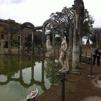 Photo taken at Villa Adriana by Giulia O. on 4/2/2013