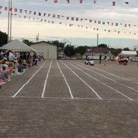 Photo taken at Tobio ES by Hiroshi T. on 9/29/2012