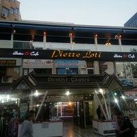 Photo taken at Pierre loti Cafe & Bistro by Melek E. on 10/23/2013