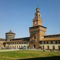 Foto scattata a Castello Sforzesco da Patrizia B. il 4/14/2013