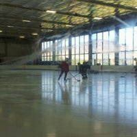 Photo taken at University of Colorado Ice Rink by Deb K. on 10/7/2012