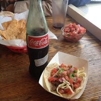 Photo taken at Honest Tom's Taco Shop by Meg K. on 5/24/2013