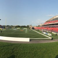 Photo taken at TD Place Stadium by Tracey on 7/18/2014