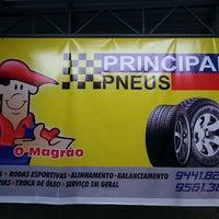Photo taken at Principal Pneus by Roberto O. on 7/12/2014
