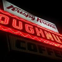 Photo taken at Krispy Kreme Doughnuts by Danielle M. on 1/17/2013