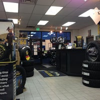 Photo taken at Goodyear (Hillside Tire) by Michael D. on 3/11/2013