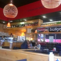 Photo taken at Gourmet Burger Kitchen by ana a. on 1/14/2013