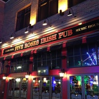 Photo taken at Five Roses Pub by James G. on 12/31/2012