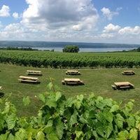 Photo taken at Wagner Vineyards by Aleksandr K. on 7/14/2013