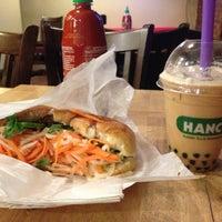 Photo taken at Hanco's Bubble Tea & Vietnamese Sandwich by David Z. on 4/14/2013