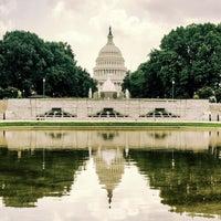 Photo taken at Senate Reflecting Pool by Jeffrey Z. on 7/8/2017