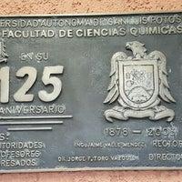 Photo taken at Facultad De Ciencias Quimicas by Francisco R. on 5/6/2016