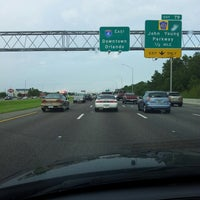 Photo taken at Interstate 4 by Aj S. on 7/29/2013