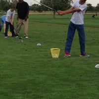 Photo taken at Aurora Hills Golf Course by Jennifer and Harold on 8/10/2014