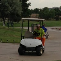 Photo taken at Aurora Hills Golf Course by Jennifer and Harold on 6/29/2013