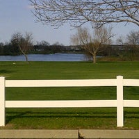 Photo taken at Aurora Hills Golf Course by Jennifer and Harold on 5/4/2013