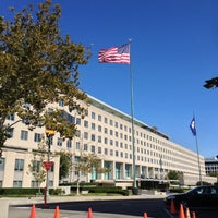 Photo taken at U.S. Department of State, Harry S Truman Building by Robert D. on 10/13/2012