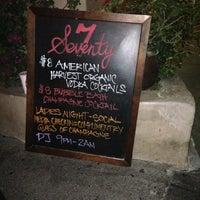 Photo taken at Seventy7 Lounge by Morgan M. on 3/22/2013