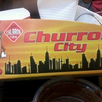 Photo taken at Churros City by Al Marie P. on 4/9/2013