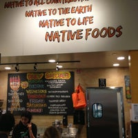 Photo taken at Native Foods by Jeffrey T. on 3/31/2013
