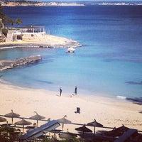 Photo taken at Restaurante Illetas Playa by Johana C. on 3/23/2014