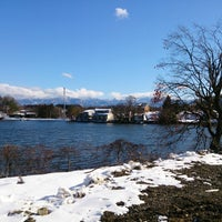 Photo taken at 田子池 by いかめし on 1/7/2015