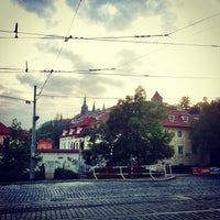 Photo taken at Malostranská (tram) by Igor F. on 5/6/2013