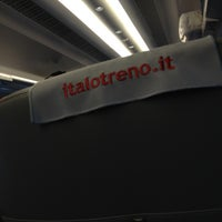 Photo taken at Treno Italo: Milano - Torino by Beppe D. on 12/22/2012