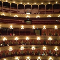 Photo taken at Teatro Colón by Juan C. on 9/30/2012