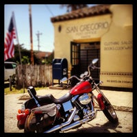 Photo taken at San Gregorio General Store by Bruce J. on 4/25/2013
