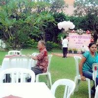 Photo taken at Kasa Bunga Garden Restaurant by Ade W. on 6/13/2013
