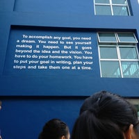 Photo taken at Pasir Ris Crest Secondary School by Danette L. on 3/13/2013