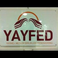 Photo taken at Yayfed by Kurtuluş Y. on 4/12/2013
