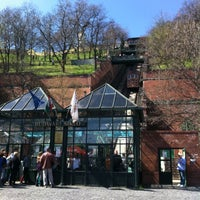 Photo taken at Buda Castle Hill Funicular by Katerina D. on 4/14/2013