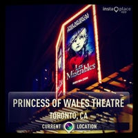 Photo taken at Princess Of Wales Theatre by Franco C. on 10/19/2013