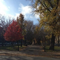 Photo taken at Commonwealth Avenue Mall by Bill H. on 11/23/2012