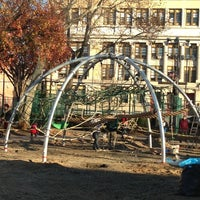 Photo taken at Church Square Park by Bill H. on 11/26/2012