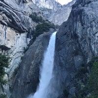 Photo taken at Lower Yosemite Falls by Nick on 7/16/2017
