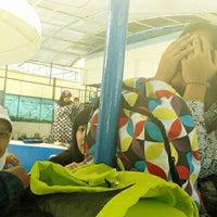 Photo taken at Kolam Renang Bikasoga by Khanza R. on 4/11/2013