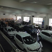Photo taken at Автомастер (салон Renault, Yamaha) by Stefan K. on 3/13/2014
