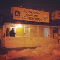 Снимок сделан в Автостанция «Орехово» пользователем Оля Д. 3/17/2013