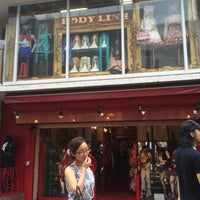 Photo taken at BODY LINE 原宿店 by mituhiro I. on 8/30/2014