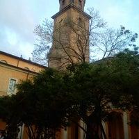 Photo taken at Student's Hostel della Ghiara by Mayra O. on 6/13/2013