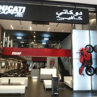 Photo taken at Ducati Caffe by Marcus G. on 7/24/2013