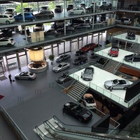 Photo taken at Mercedes-Benz Niederlassung München by Danny P. on 8/6/2014