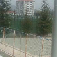 Photo taken at Pazaryeri İlçe Stadı by Umıt T. on 4/9/2016