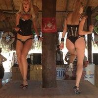 Photo taken at Fun Beach Club by Berk N. on 7/28/2013