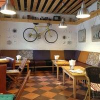 Снимок сделан в DRUZI cafe & bar пользователем Victoria R. 7/28/2013