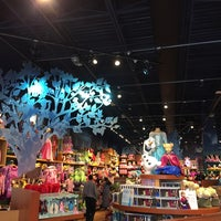 Photo taken at Disney store by Dave M. on 10/13/2014