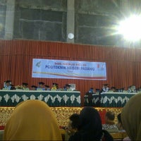 Photo taken at Politeknik Negeri Padang by Ahmad A. on 2/19/2014